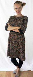 Paisley Kleid fürs Büro