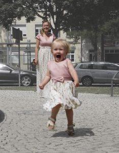 Mutter-Tochter Kleid