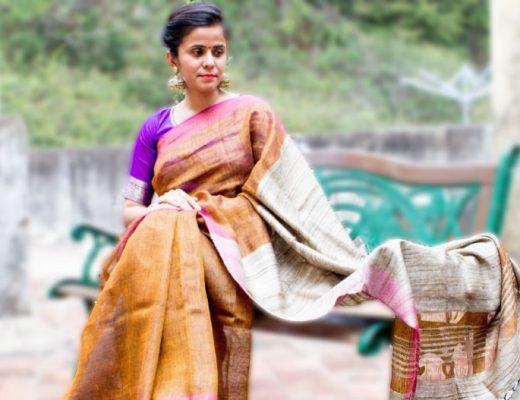 Sari Mode aus Indien