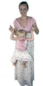 Mutter-Tochter Kleider