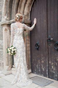 Hochzeitskleid in vintage