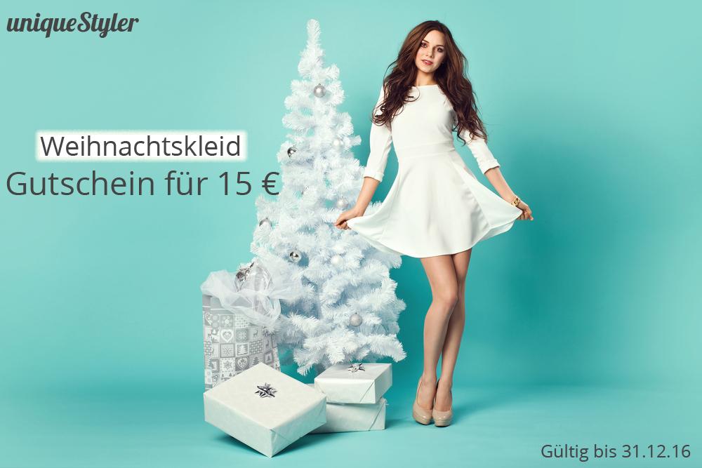 Das perfekte Kleid für Weihnachten